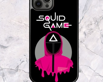 Squid Game Triangle Soldier - iPhone Case for 13 12 11 Pro Max SE XS XR X 7 8