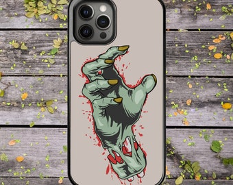 Zombie Hand Halloween - Phone Case for iPhone X XS XR XS Max 11 Pro Max 12 Mini