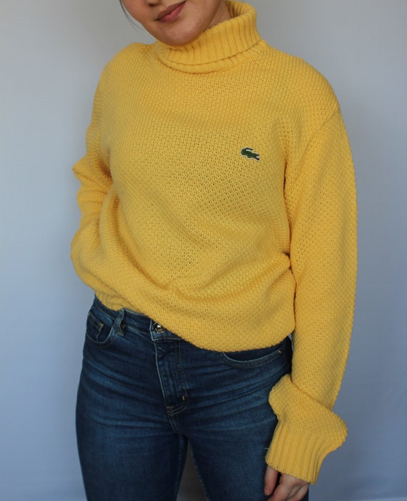Lacoste 80s 90s Vintage Pullover Oversized