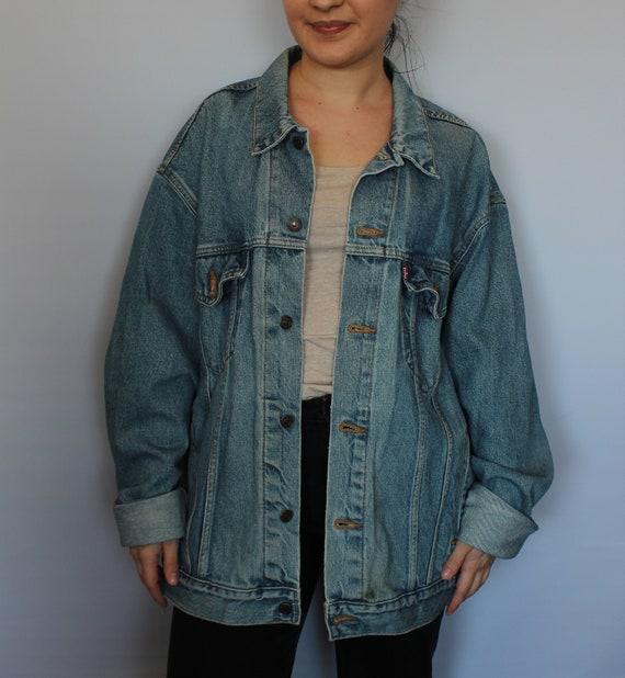 Vintage 90s LEVI'S Denim Jacket Light Blue