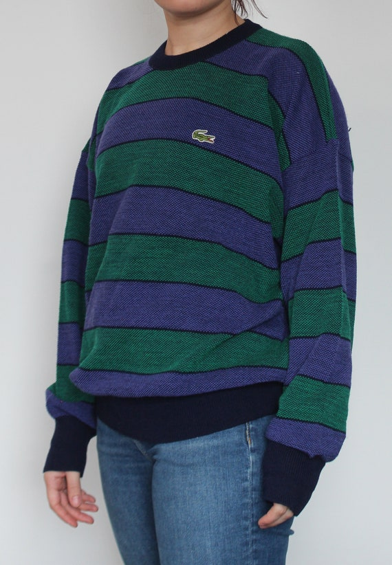 Lacoste 80s 90s Vintage Men's Pullover