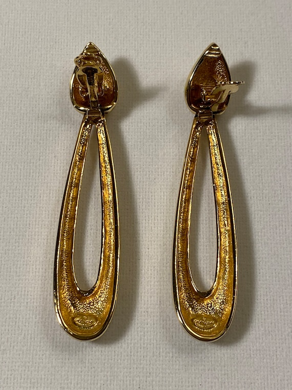 1980s Vintage Givenchy Statement Earrings - image 2
