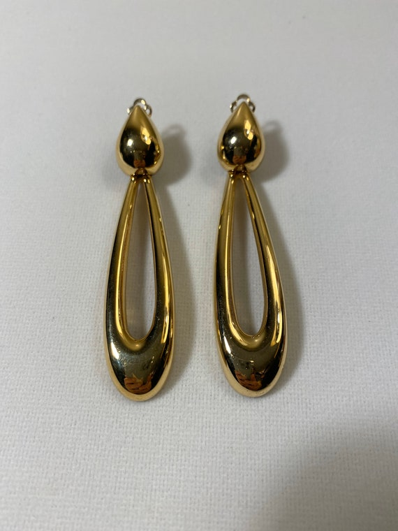 1980s Vintage Givenchy Statement Earrings