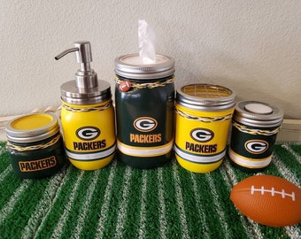 NFL Green Bay Packers bathroom set, office set.