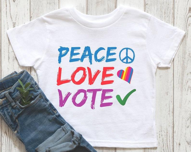 kids political shirt vote kids shirt feminist kids shirt vote toddler shirt Vote shirt for kids kids election shirt