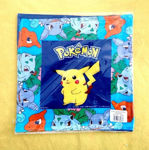 Vintage Pokémon Handkerchiefs 1998