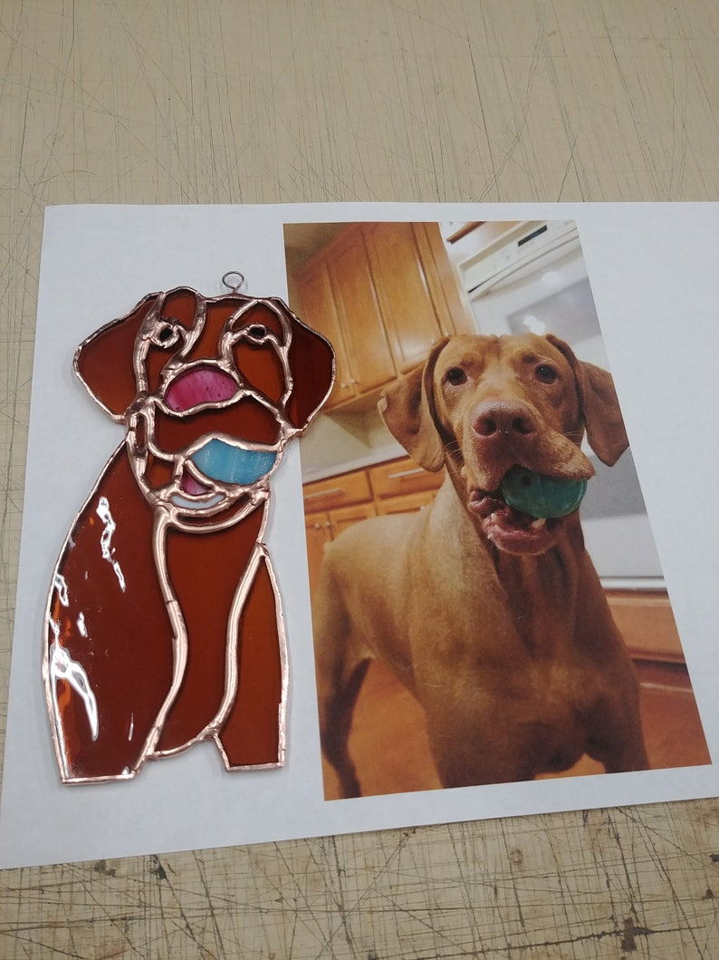 Custom Stained Glass Pets