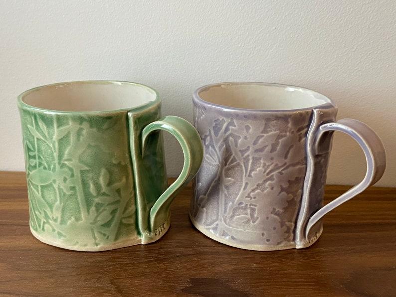 Ceramic Mugs Spring Garden Glaze Range for Coffee & Tea image 0