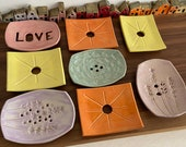 Soap, Ring or Key Dish - Handmade Ceramic - Bathroom Accessories - Various Designs 2nd Small Batch