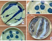 Spoon Rest - Handmade Glazed Ceramic in Multiple Ocean & Night Sky Inspired Colours - by Penny