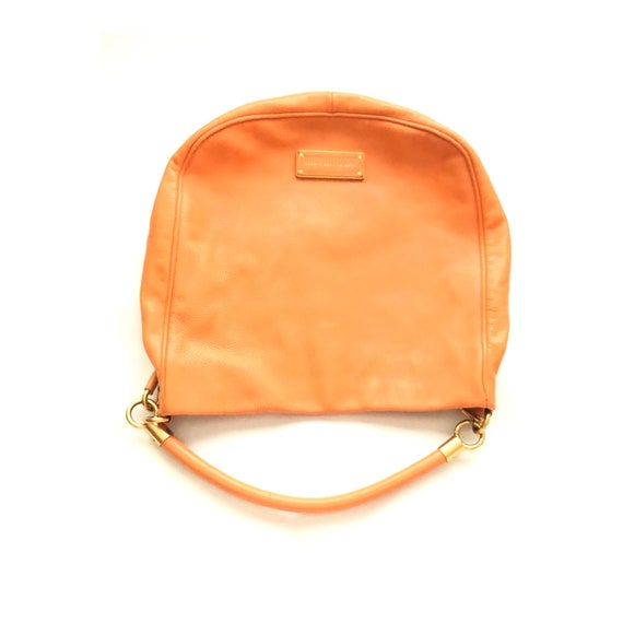 Marc Jacobs orange leather bag