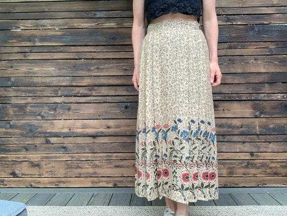 Evan Picone Cottagecore Skirt - image 1