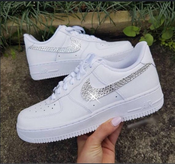 Lucid Ice Nike Air Force 1 white