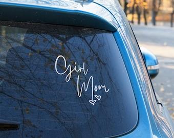 Car Mom Window Sticker Decal Girl Mom Mom of Girls Decal Girls