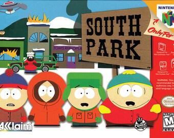 South Park Art Etsy