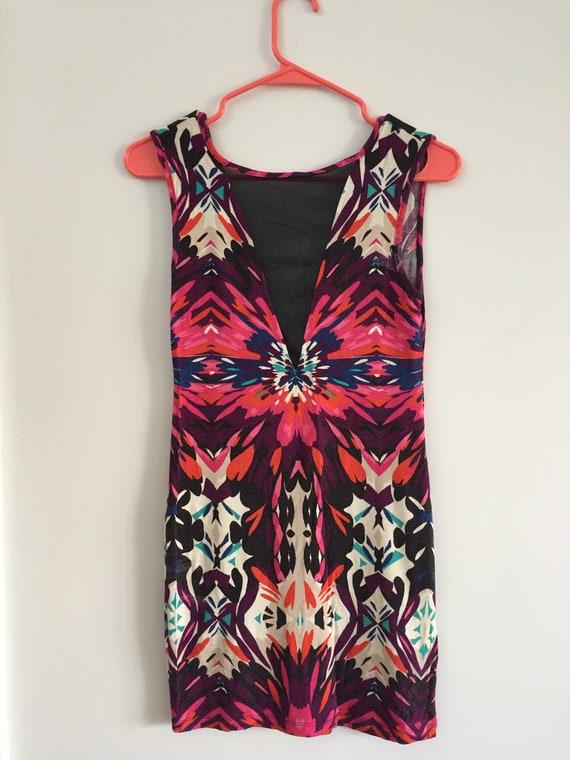 Vintage Rave Dress 1990s UK size 12/ US size 8 - s