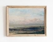 Beach Print, Girls, Women, Music, English England Antique Vintage Painting Digital Download Print PRINTABLE