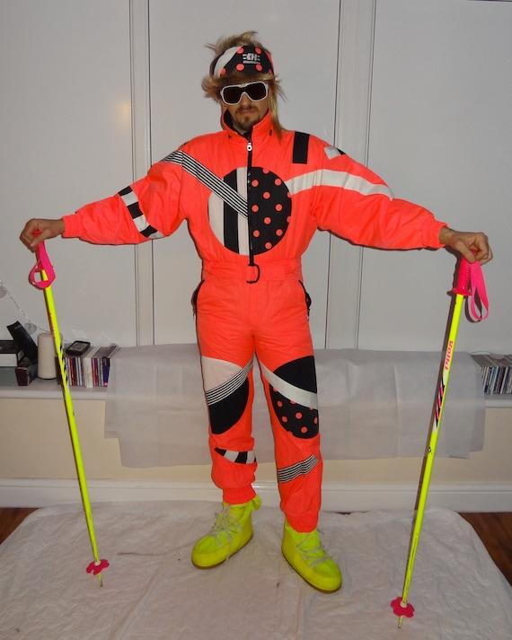 HENRY DUVILLARD  Retro Vintage 80's 90's Ski Suit