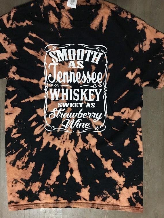 Smooth as Tennessee whiskey tshirt