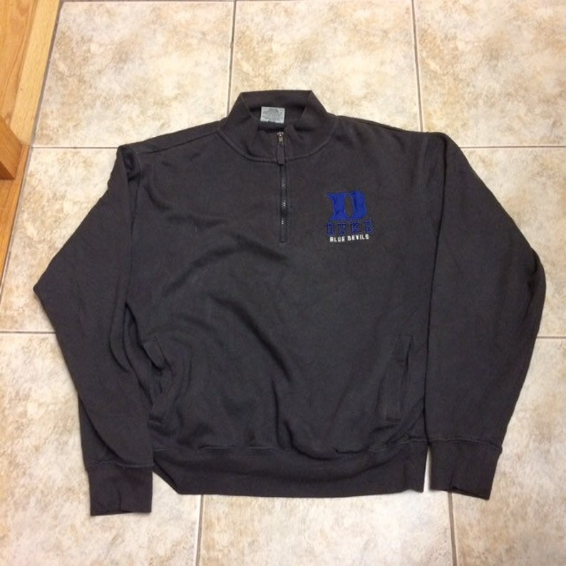 Vintage Duke Blue Devils Sweatshirt size Medium