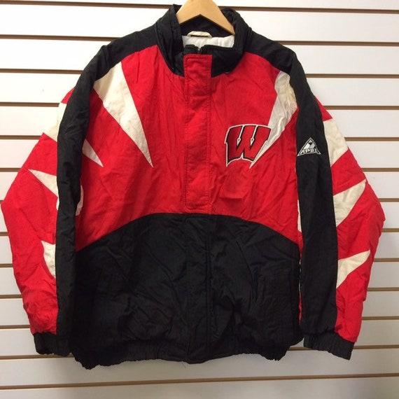 Vintage Wisconsin Badgers jacket size XL 1990s