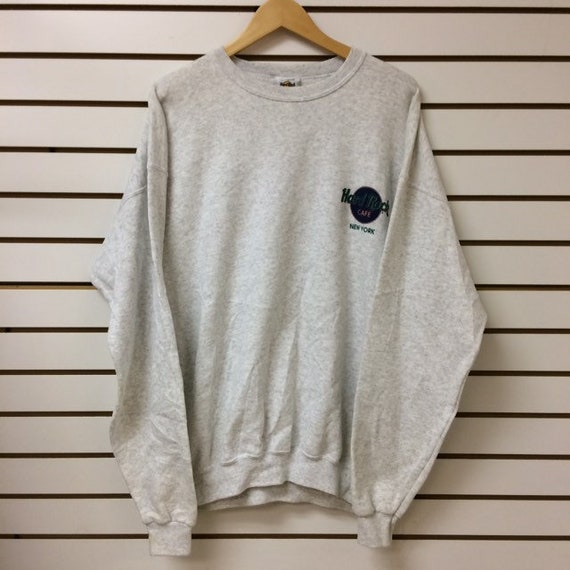 Vintage Hard Rock Cafe New York Sweatshirt size xl