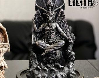 Baphomet Beeswax Ritual Candle