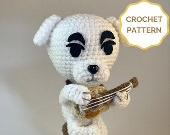 KK Slider Animal Crossing Crochet PATTERN - Amigurumi