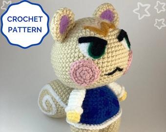 Marshal Animal Crossing Crochet PATTERN- Amigurumi