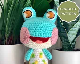 Lily Animal Crossing Crochet PATTERN- Amigurumi