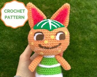 Tangy Animal Crossing Crochet PATTERN- Amigurumi