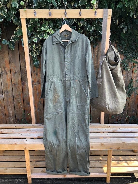 Genuine Issue 1960's Dutch Army Coverall Medium