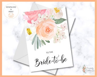 DIGITAL Minimalistic Modern Simple \u201cTo My Wife on Our Wedding Day\u201dHis Vows Card Digital and PrintableDownloadable
