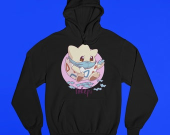 Togepi Ugly Christmas Hoodie Sweater Unisex Mens /& Women/'s Clothing Video Game Retro Classics Retro Hoodie Christmas Gifts