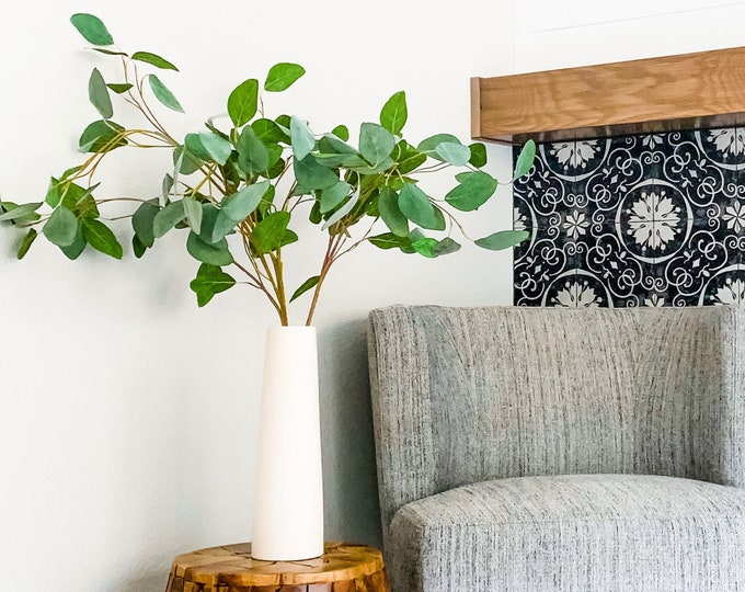 Faux Eucalyptus Leaves
