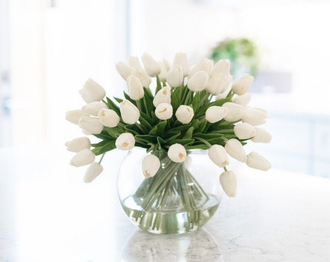 Faux Tulips Arrangement