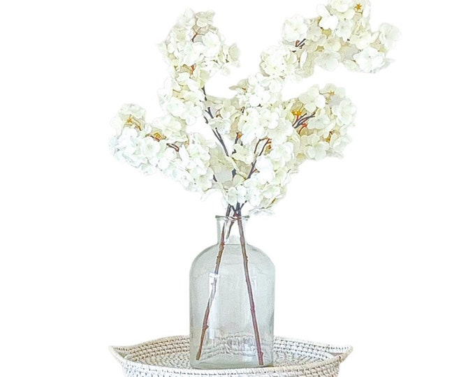 Faux Pear Blossom Branches