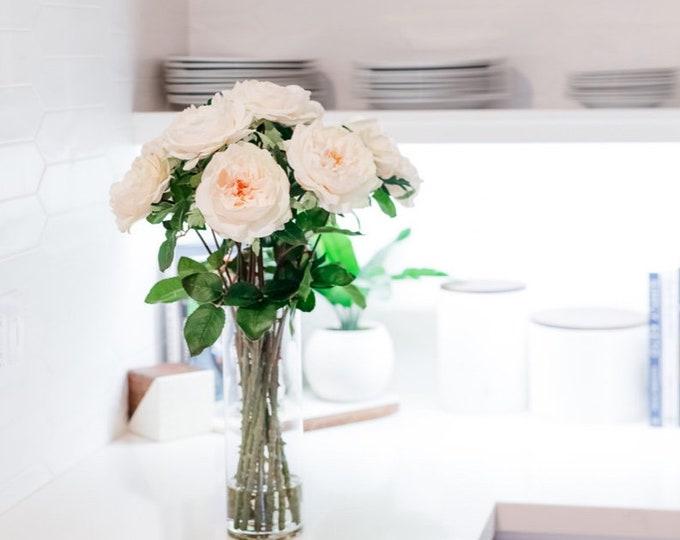 Faux Tall Roses Arrangement
