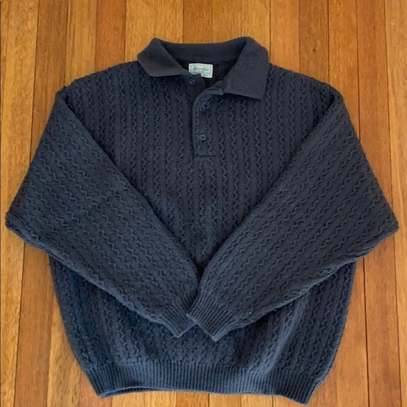 VTG Benetton Cable Knit Dad Sweater