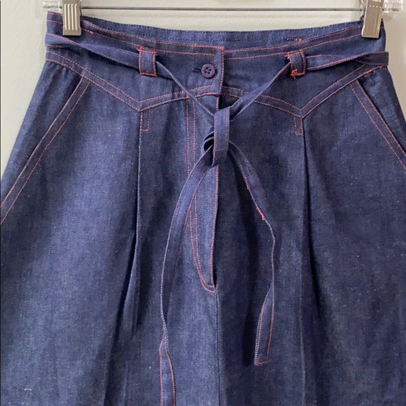 Vintage India Imports of Rhode Island Long Denim S