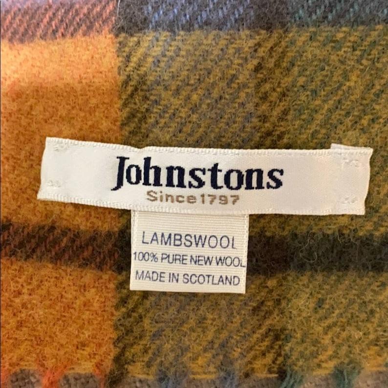 VTG Johnstons of Elgin Buchanan Lambswool Scarf