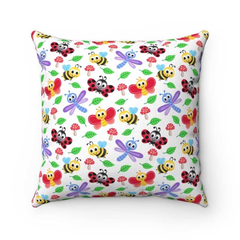 Pillow for Baby Home Decor Nursery Decor Kids Pillow Baby Shower Gifts Baby Room Pillow Lady Bug Pillow