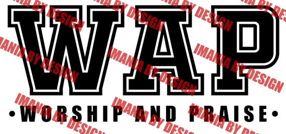 WAP - Worship And Praise SVG