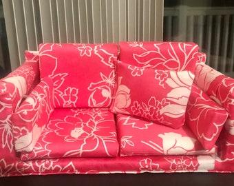3pcs 1//6 Doll Soft Square Pillow Set Cushions Sofa Bedroom Decoration