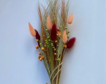 Dried Flowers Bouquet Etsy