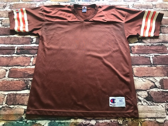 Cleveland Browns Blank Jersey by Champion Size 40