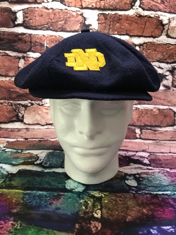 Vintage Notre Dame Newsboy/Cabbie Hat by United Ha