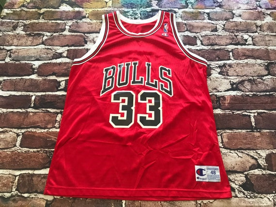 Scottie Pippen Chicago Bulls Jersey by Champion