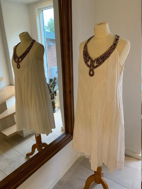 Vintage Boho Chic summerdress Size L