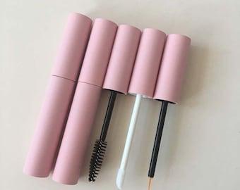 10ml Pink Mascara Tube, Diy Lip Glaze Tube, Handmade Empty Bottle, Eyelash Growth Liquid Bottle, Glue Bottle, Essential Oil Bottle